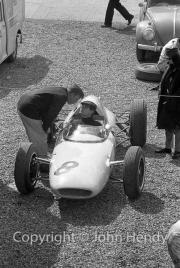 Formula 1 - #8 Lotus 24 - Climax V8 (Masten Gregory) in the paddock