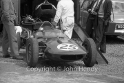 Formula 1 - #25 Gilby - Climax S4 (Keith Greene) in the paddock