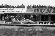 Sportscars - #34 Aston Martin DB4 GT Zagato 0182/R 1VEV (Jim Clark)? in the pits