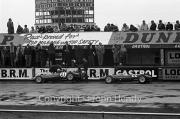 Formula Junior #21 Lotus 22 - Ford/Cosworth (Peter Arundell) and #22 Lotus 22 - Ford/Cosworth (Alan Rees) in the pits