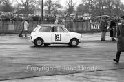 Touring Cars - #8 Morris Mini Cooper (Liz Jones) in the paddock