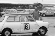 Touring Cars - #8 Morris Mini Cooper (Liz Jones)