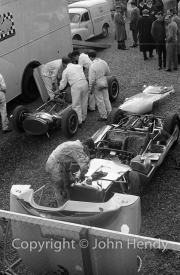 Sportscars - Lolas in the paddock