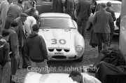Sportscars - #30 Ferrari 250 GTO 3505GT MO75722 (Masten Gregory) in the paddock