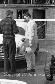 Trevor Taylor in the paddock