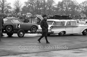 Touring Cars - #14 on trailer ? Vauxhall VX 4/90 (JR Pearce) in the paddock
