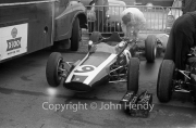 Formula 1 - #9 Cooper-Climax BT7 (Dan Gurney) - listed as not arriving - in the paddock