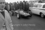 Formula 1 - #21 Lotus 24 - BRM P56 V8 (John Campbell-Jones) in the paddock