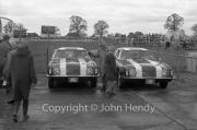 Studebaker Avanti GT Cars in the paddock