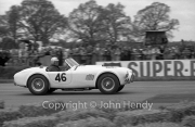 GT Cars - #46 AC Cobra 4727cc (P.Jopp) Probably the first European race for the AC Cobra.
