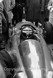 Unknown Formula 1 car in the paddock