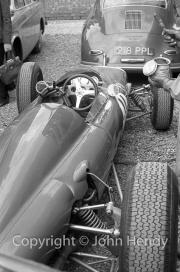 Formula 1 - #11 Ferrari 156/63 (Willy Mairesse) in the paddock