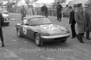 GT Cars - #27 1594cc Lotus Elan (Graham Warner) in the paddock