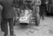 Formula 1 - #10 Ferrari 156/63 (John Surtees) in the paddock