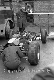 Formula 1 - #1 Lotus 25 Climax (Jim Clark's car)