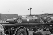 Formula 1 - #15 BRM P57 (Tony Maggs) on the transporter