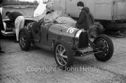 Vintage car - #16 Bugatti (and mother)