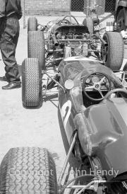 Exposed F1 car