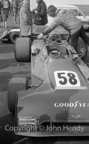 Formula 5000 - #58 Chevron B24 Chevrolet V8 (Tony Dean)