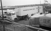 Graham Hill Racing transporter