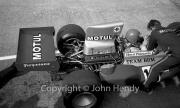 F1 - #10 BRM P160 (Henri Pescarolo) in the pits