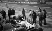 F1 - #24 Hesketh-Cosworth 308 (James Hunt) being refuelled