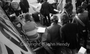 F1 - James Hunt in the Hesketh pits