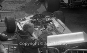 Exposed F1 car, Embassy Hill Lola-Cosworth