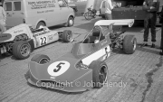 Formula Atlantic - #5 March 73B - Ford BDA (Geoff Friswell) and #22 March 74B - Ford BDA Hart (Matt Spitzley)