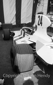 F1 - #24 Hesketh-Cosworth 308 (James Hunt) in the paddock