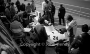F1 - #24 Hesketh-Cosworth 308 (James Hunt) in the pits