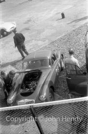 """#28 team - MG Car Club - MG-A Coupe. """"B"""" car - R.Randall"""