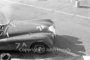 """#7 team - XK Jaguars. """"A"""" car - XK120, CM Clairmonte"""