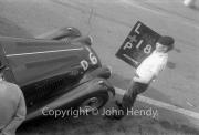 """#6 Team - Morgan Plus Four 1991cc. Westerham mechanic and """"D"""" car - PHG Morgan"""