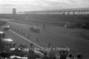 "View into the sun. #6 team - Morgan Plus Four 1991cc. ""F"" car - CJ Lawrence"