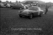 "Paddock - #3 team - Lotus Elite 1220cc. ""B"" car - R Vincent."