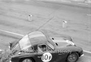 Team #10 TVR Grantura - Car F TVR 1588cc, J Woolfe