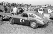 Team #12 MGCC NW Car A MG-A Twin Cam 1762cc, Ted Lund