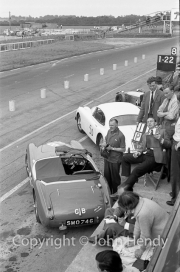 John Gott and car