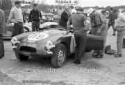 Team #11 MGCC SE - Car B MG-A Twin Cam, Bob Olthoff