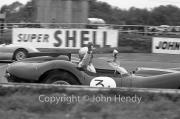 Team #3 Jaguar Drivers A, Car A - Lister/Jaguar 3781cc, J.Coundley
