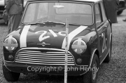 Team #21 Mini 7 Club A, Car C - Cooper-Mini 997cc John Whitmore/S.McQueen