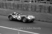 Team #1 Jaguar Drivers A, Car A - Lister-Jaguar (Roger Mac)
