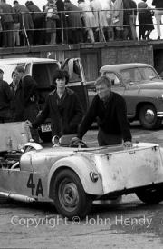 Team #4 Club Mixture, Car A - Lotus 7 (CJ Clark)