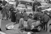 #35 Jaguary D-Type 1957, 2986cc, Pat Coundley - in the paddock