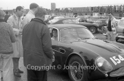 #154 Aston Martin Zagato 1962 3670cc, Jean Bloxham driving - in the paddock