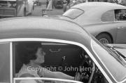 #154 Aston Martin Zagato 1962 3670cc, Jean Bloxham driving