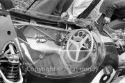 Formula 1 - #8 Ferguson P99 - Climax (Jack Fairman) cockpit in the paddock