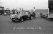 Touring cars #36 - E-Type Jaguar Equipe Endeavour (Graham Hill) in the paddock