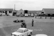 Formula 1 - #8 Ferguson P99 - Climax (Jack Fairman) in the paddock